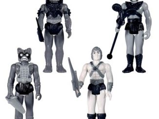 MOTU Grayscale Action Figure Set