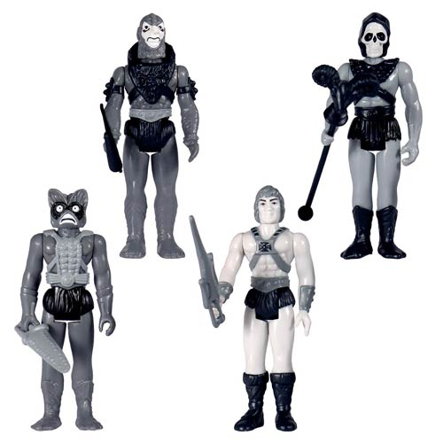 MOTU Grayscale Action Figure Set