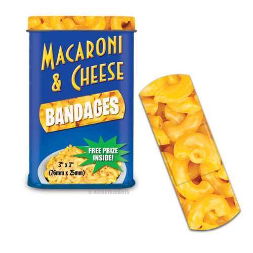 Macaroni & Cheese Bandages