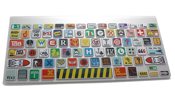 Funky macbook keyboard stickers urtaz Choice Image