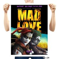 Mad Love Psycho Road Art Print