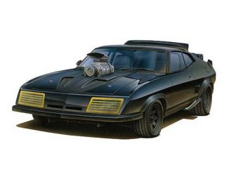 Mad Max 2 The Road Warrior 1 24 Scale Interceptor 1973 XB GT Ford Falcon Coupe Vehicle Model Kit