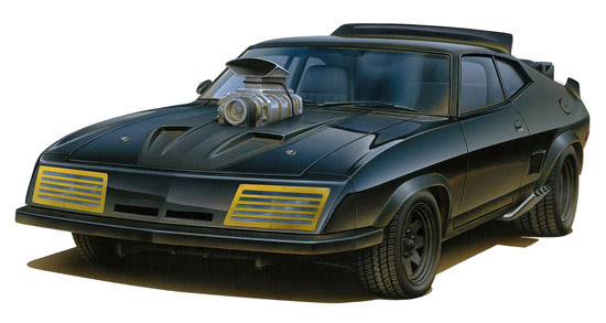 Mad Max Road Warrior Interceptor Vehicle Model Kit