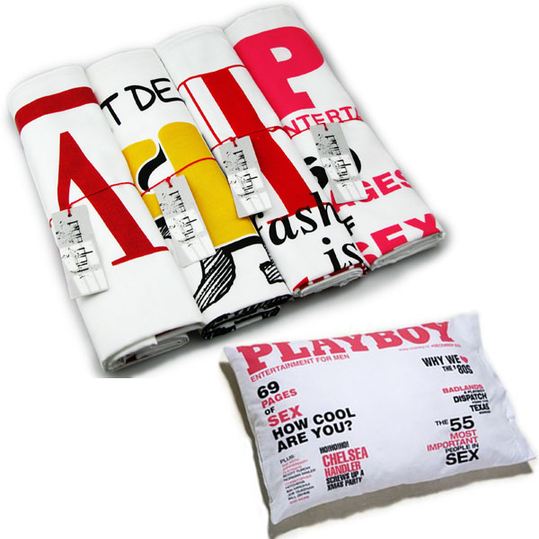 Magazine Cover Design Pillowcases