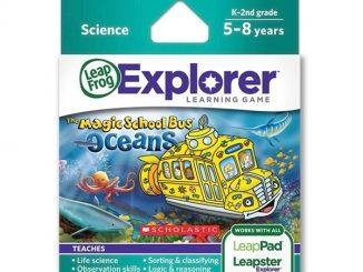 Magic School Bus Oceans LeapFrog Explorer Learning Game Review
