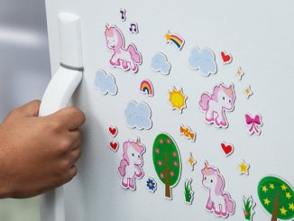Magical Unicorn Magnet Set