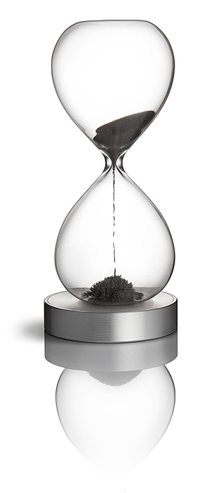 Magnetic Hourglass