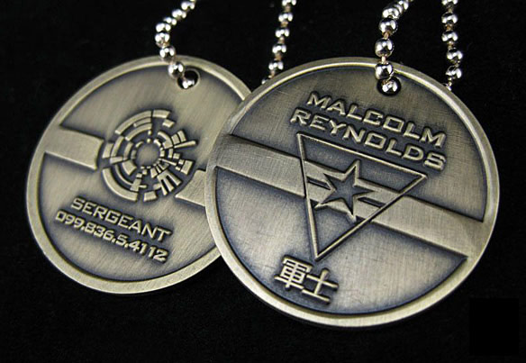 Malcolm Reynolds Dog Tags