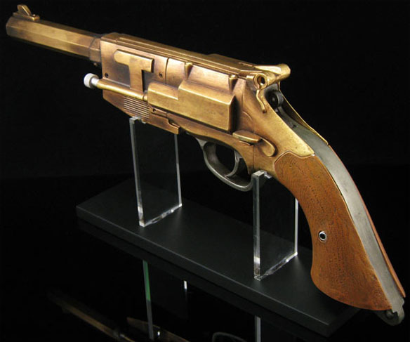 Malcolm Reynolds Metal-plated Pistol Prop Replica