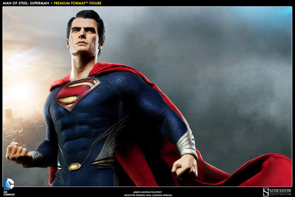 Man Of Steel Superman Premium Format Statue