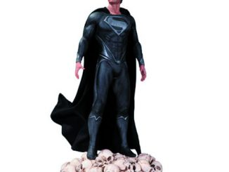 Man of Steel Black Variant Statue