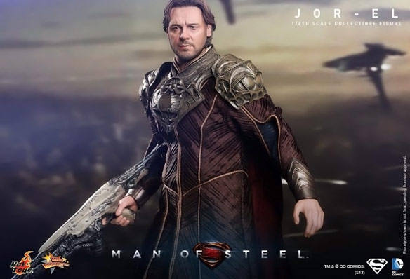 Man of Steel Jor El Sixth Scale Figure