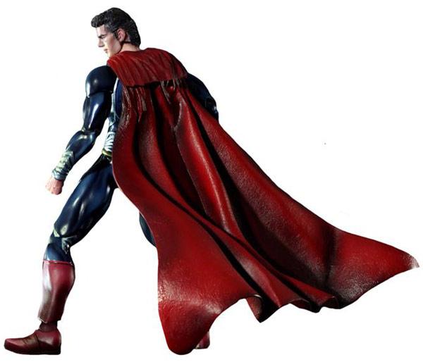 Man of Steel Kai Superman Figure by Square Enix
