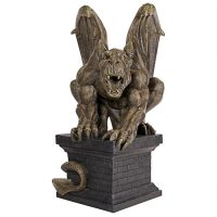 Manchesters Cathedral Gothic Chimera Gargoyle Statue Liam Manchester