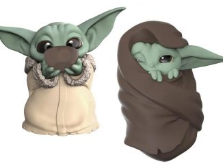 Mandalorian Baby 'Yoda' Bounties Soup and Blanket Mini-Figures