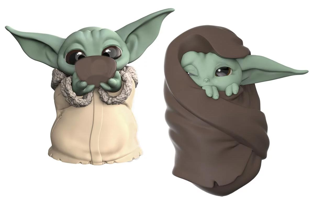 the mandalorian 39 baby yoda 39 bounties soup and blanket mini. Black Bedroom Furniture Sets. Home Design Ideas