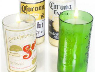 Mandles (Beer Bottle Candles)