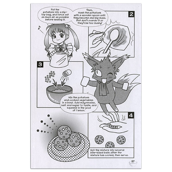 Manga Cookbook