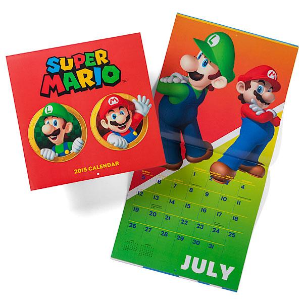Mario 2015 Calendar