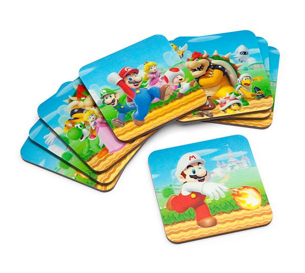 Mario 3D Lenticular Coasters
