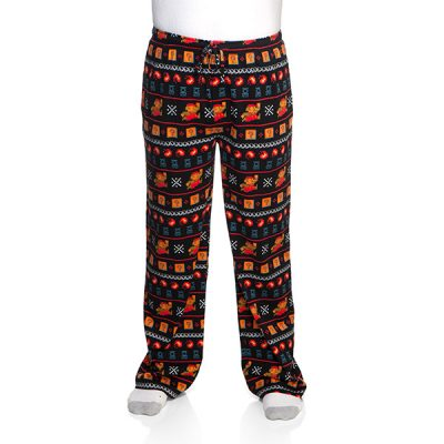 Mario 8-bit Lounge Pants with Collectors' Tin