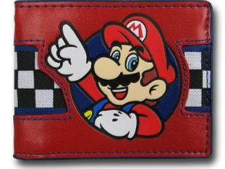 Mario Checker Bi-Fold Wallet