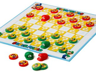 Mario Checkers Board Game