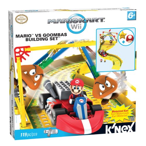 Mario Kart Wii: Mario vs The Goombas Building Set