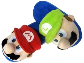 Mario & Luigi Slippers