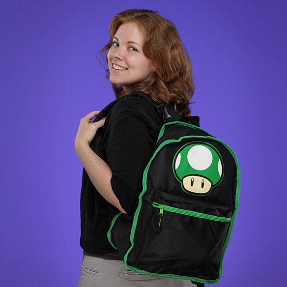 Mario Mushroom Reversible Backpack