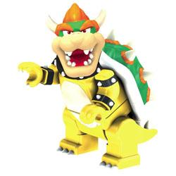 Mario & Yoshi vs Stone Bowser