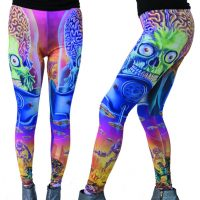 Mars Attacks Close Up Leggings