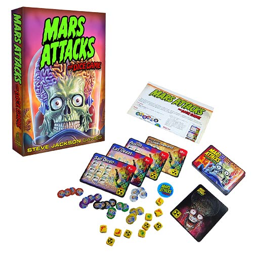 Mars Attacks Dice Game