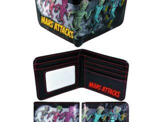 Mars Attacks Martian Bi-Fold Wallet