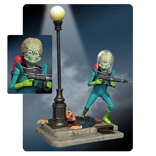 Mars Attacks! Martian Figure Model Kit