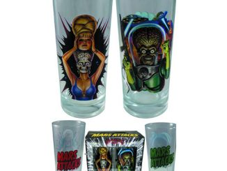 Mars Attacks Pint Glass 2-Pack
