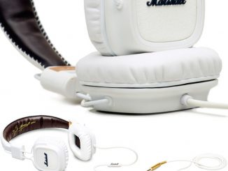 Marshall Major White Headphones
