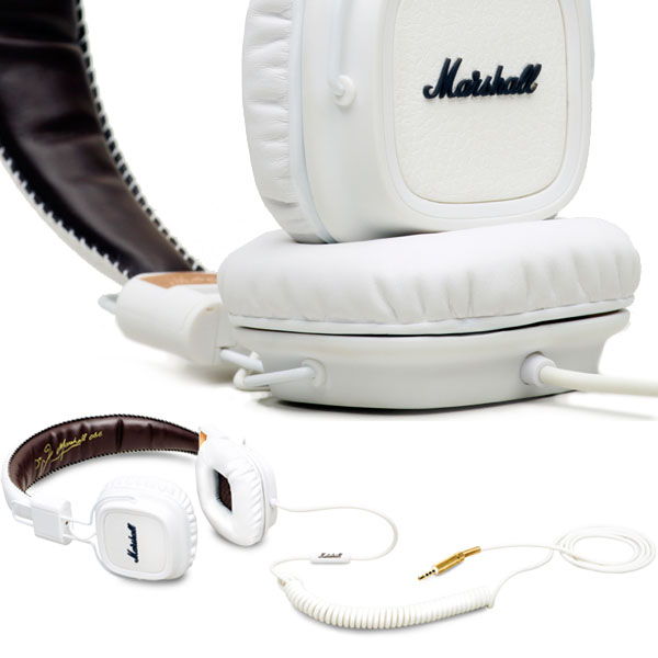 Marshall Major White Headphones