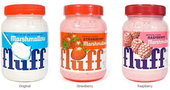 Marshmallow Fluff Creme Spread Flavors