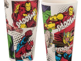 Marvel 24 oz. Bamboo Tumblers 2-Pack