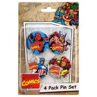 Marvel 4-Pack Pin Set