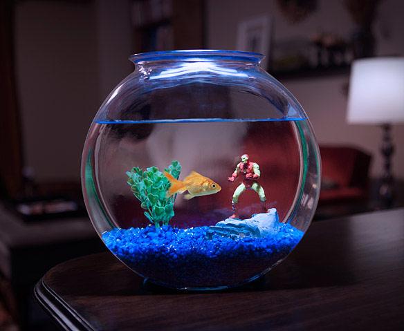Marvel Aquarium Line Figures