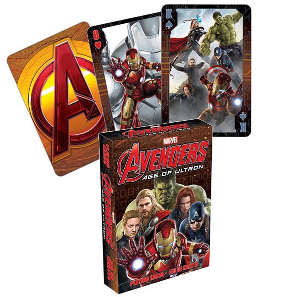 Marvel Avengers Age of Ultron Playing Cards