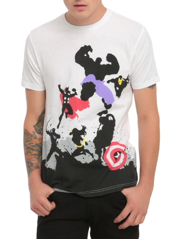 Marvel Avengers Assemble Silhouettes T-Shirt