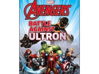 Marvel Avengers Battle Against Ultron Hardcover Book