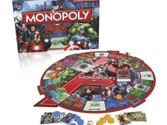 Marvel Avengers Edition Monopoly Game