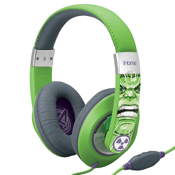 Marvel Avengers Hulk Over The Ear Headphones