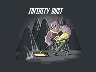 Marvel Avengers Infinity Dust T Shirt