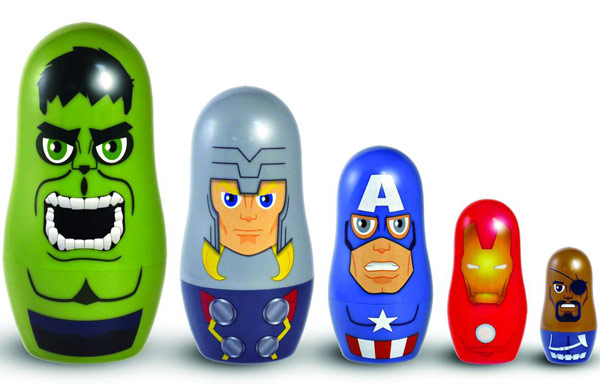 Marvel Avengers Nesting Dolls