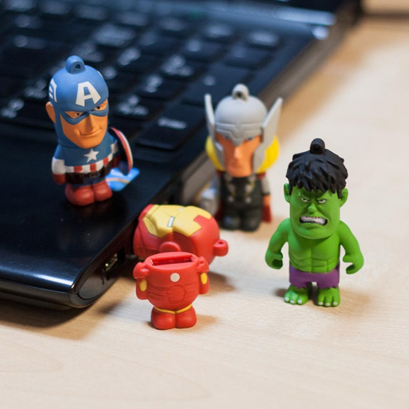 Marvel Avengers USB 8GB Memory Sticks